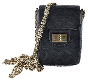 Chanel Phone Case Reissue Leather Cross Body Bag