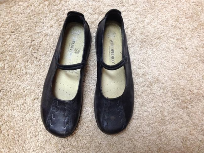 Item - Black Shawna Flats Size US 8.5 Regular (M, B)