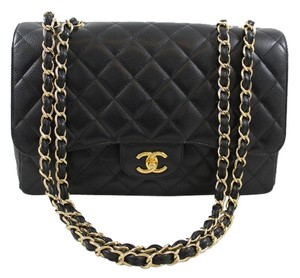 Chanel Jumbo Jumbo Flap Shoulder Bag