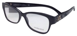 Versace New VERSACE Eyeglasses VE 3196 GB1 54-16 135 Black Frames