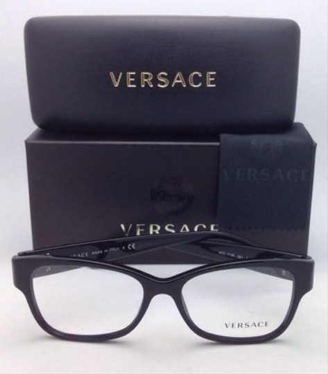Versace New VERSACE Eyeglasses VE 3196 GB1 54-16 135 Black Frames Image 5