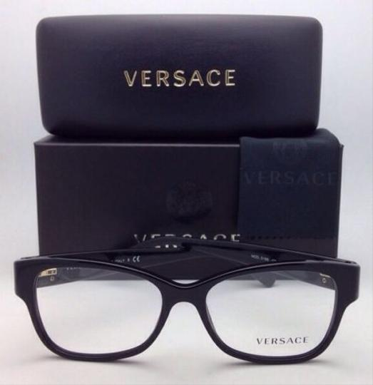 Versace New VERSACE Eyeglasses VE 3196 GB1 54-16 135 Black Frames Image 8