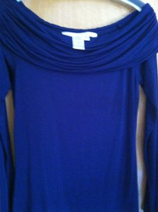 Max Studio Top Dark Blue