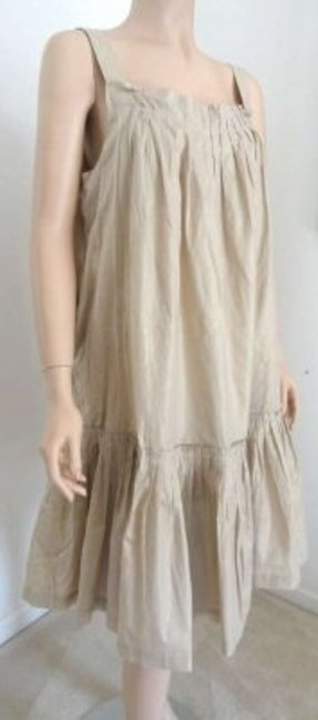 Wisp short dress Gold on Tradesy