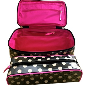Kate Spade Rose Avenue Dot Large Collin Cosmetic Case