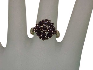 Other 14K Yellow Gold Antique Victorian Genuine Garnet Ring, 1800s