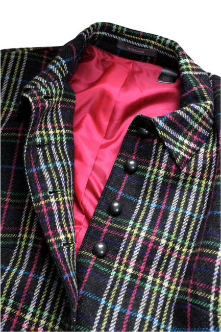Liz Claiborne Multicolor, Black, Blue, Pink, Yellow, Green, White Jacket