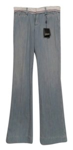 Capital Tailors Flare Leg Jeans-Light Wash