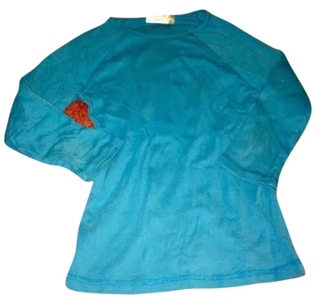 Preload https://item5.tradesy.com/images/juicy-couture-turquoise-tee-shirt-size-8-m-1317634-0-0.jpg?width=400&height=650