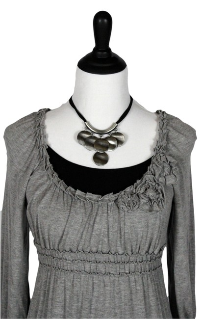 Sophie Max Top Gray
