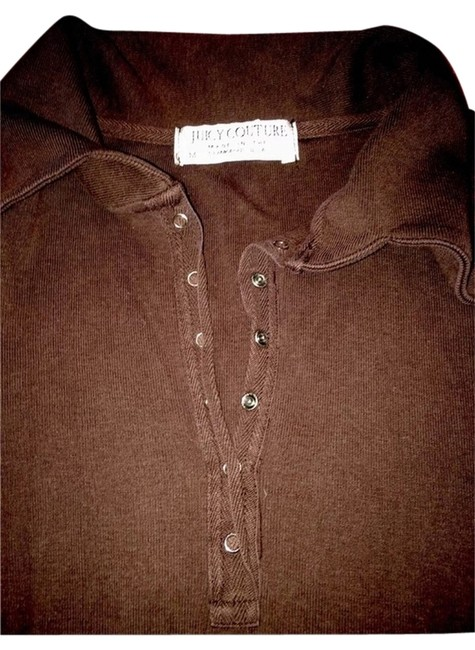 Juicy Couture Button Down Shirt Brown