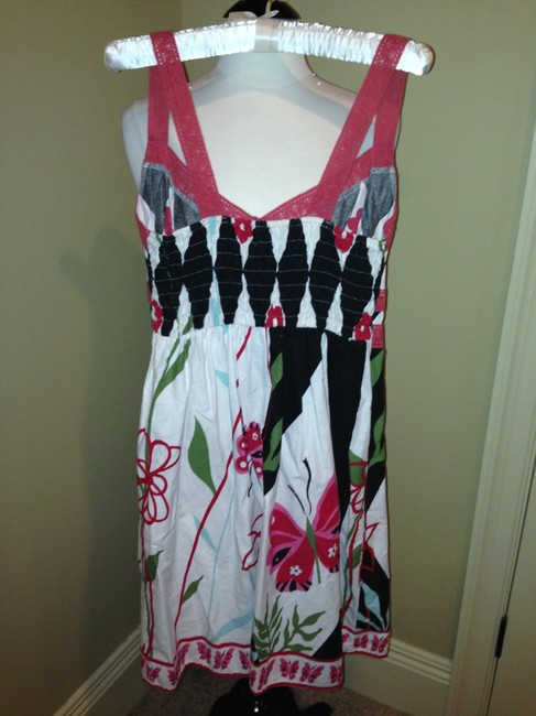 Fire short dress Multi Colors Los Angeles Size L on Tradesy