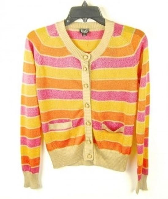 Preload https://item4.tradesy.com/images/dolce-and-gabbana-multicolor-dolce-and-gabbana-cardigan-size-4-s-13178-0-0.jpg?width=400&height=650