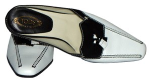 Tod's White / Black Pumps