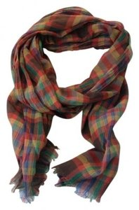 American Eagle Outfitters Plaid American Eagle Rectange Scarf