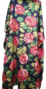Ann Louise Roswald Ann Louise Roswald Red Rose Flower Square Scarf floral