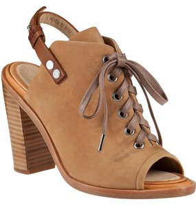 Rag & Bone And Peep-toe Lace-up Trafford New Boots