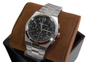 Michael Kors Chronograph Channing Black Dial Stainless Steel Watch MK6054