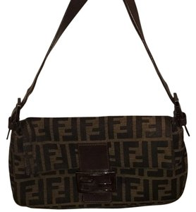 Fendi Satchel in Brown Canvas