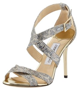 Jimmy Choo Glitter Sexy New Sandals