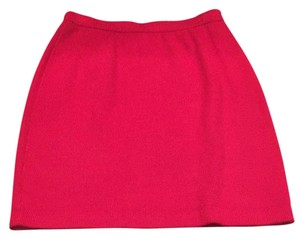 St. John Mini Skirt Red