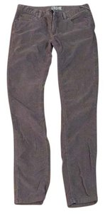 Free People Corduroy Skinny Winter Skinny Pants Gray