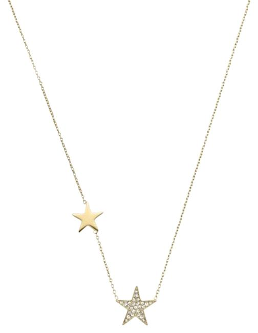 Item - Yellow Gold Stars Necklace