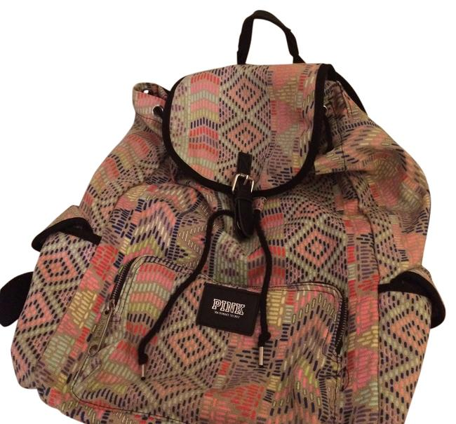 Item - Multicolor Canvas Backpack
