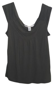 Diane von Furstenberg Summer Dvf Sleeveless Summer Top Forest Green