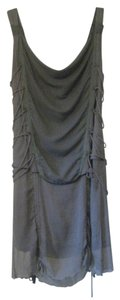 Nally & Millie short dress Gray Boho Urban Laced Bohemian on Tradesy