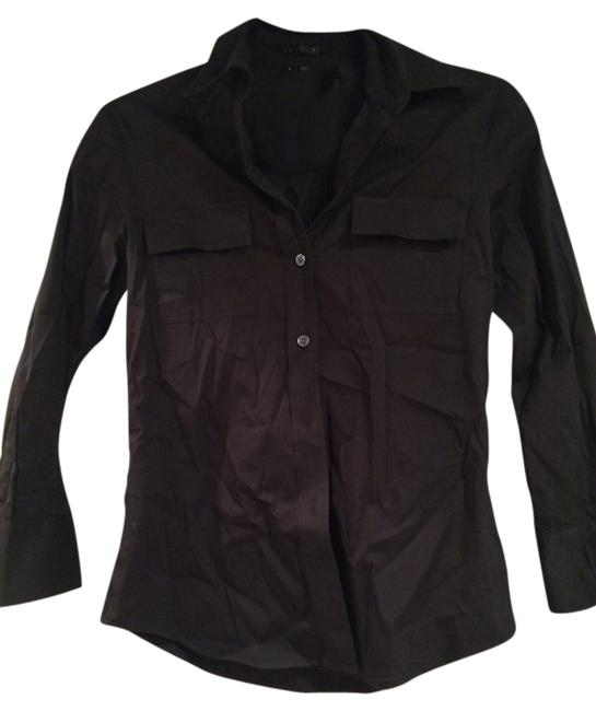 Preload https://item1.tradesy.com/images/theory-black-blouse-work-workwear-winter-fall-summer-button-down-top-size-petite-4-s-1318355-0-0.jpg?width=400&height=650