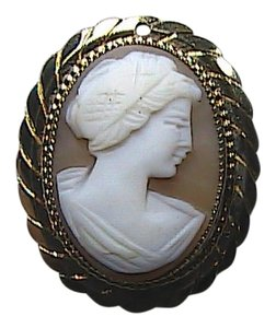 Other Victorian 1/20 12k Gold Filled Carved Cameo Pin/Brooch