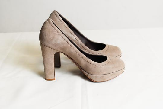 J.Crew Coddington Italy Cobblestone / Grey Pumps