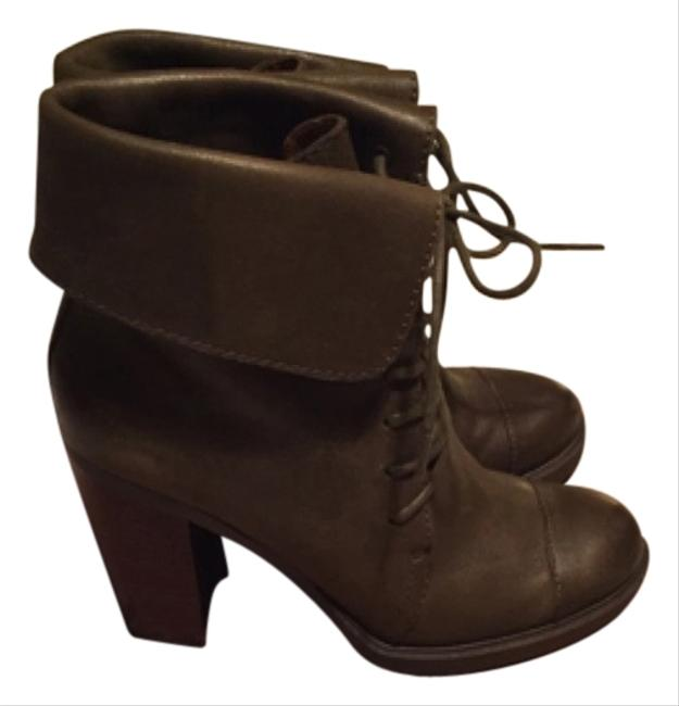 Item - Olive Boots/Booties Size US 7 Regular (M, B)