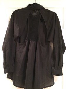 Vintage Havana Summer Winter Fall Top Black