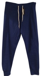 Monrow Winter Summer Fall Skinny Pants Blue