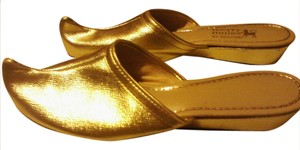 Marc by Marc Jacobs GOLD Mules