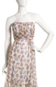 Nanette Lepore short dress White Floral on Tradesy