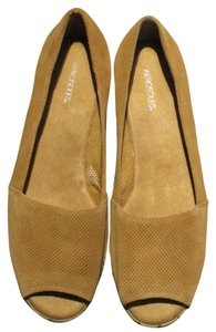 Aerosoles Light Brown Flats