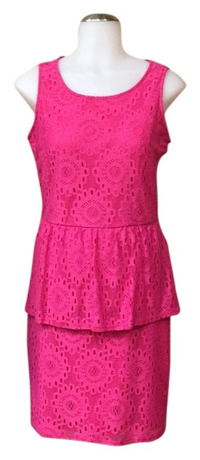 Preload https://img-static.tradesy.com/item/13184791/laundry-by-shelli-segal-pink-14907-above-knee-short-casual-dress-size-4-s-0-1-650-650.jpg