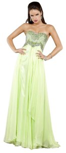 Jovani Prom Strapless Pageant Dress