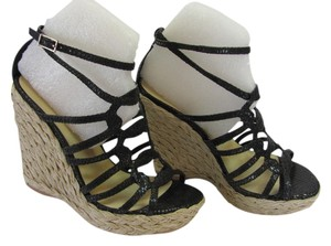Bakers Size 5.5 M (Usa) Very Good Condition Black, Neutral Wedges