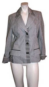 STEILMANN Striped BLUE/WHITE Blazer