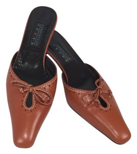 Lambertson Truex Autumnal Orange Mules