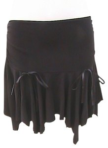 Tempted Mini Skirt Black