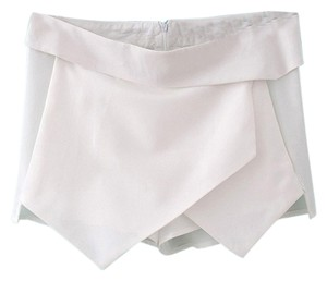 Absolutely & Faith Asymmetrical Skorts Mini/Short Shorts White