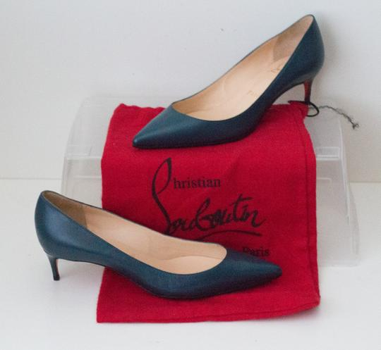 Christian Louboutin Teal Pumps Image 3