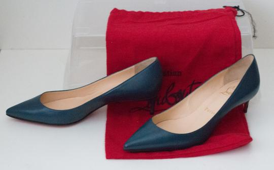Christian Louboutin Teal Pumps Image 4