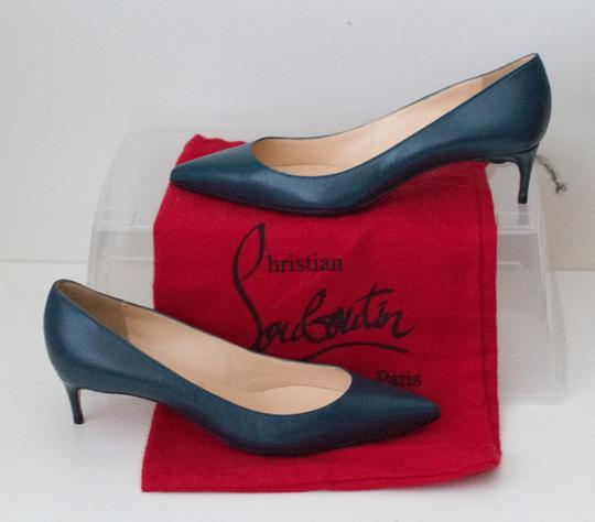Christian Louboutin Teal Pumps Image 6