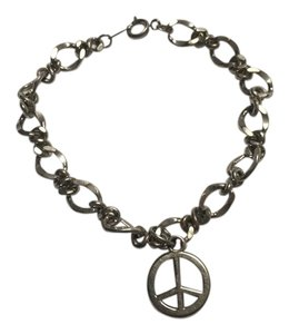 Icing Peace Sign Charm Bracelet